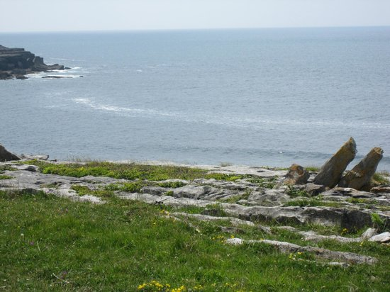 Doolin Cafe: Coastal picture in Doolin