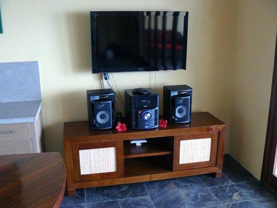 Nasama Resort : TV & entertainment unit