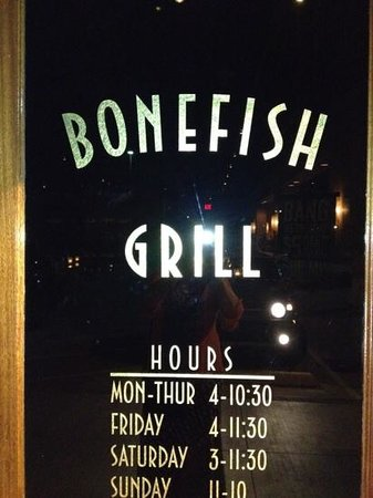 fish and chips light and crunchy - picture of bonefish grill, Reel Combo