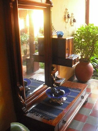 Casona Colonial Guesthouse : In the shared common space