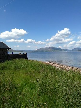 The Pier at Craigmore: what a view!
