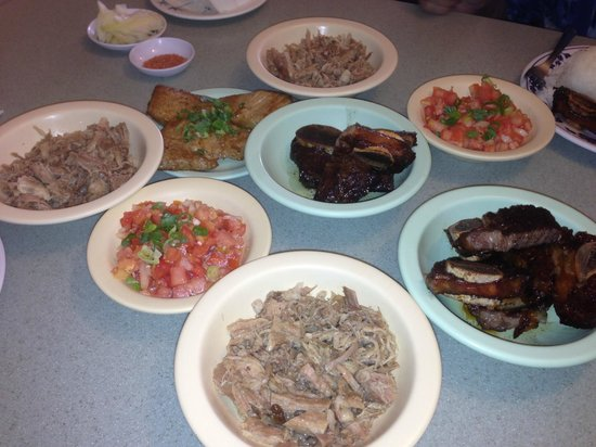 Delicious array of authentic hawaiian food picture of for Authentic hawaiian cuisine