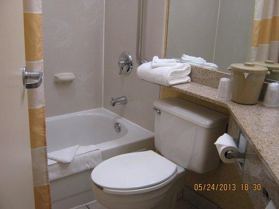 Baymont Inn & Suites Flagstaff : Bathroom
