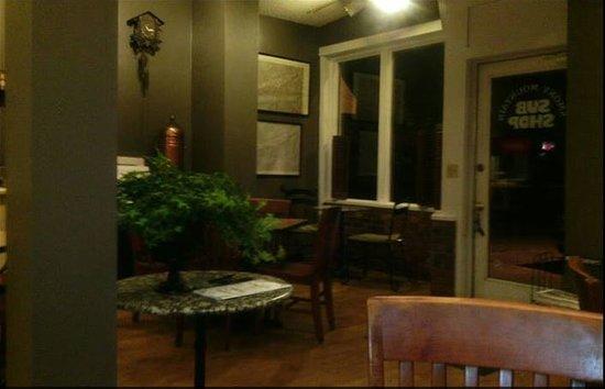 Smoky Mountain Sub Shop: Inside