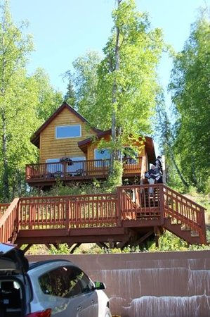 Denali Overlook Inn : The Northern Exposure Cabin