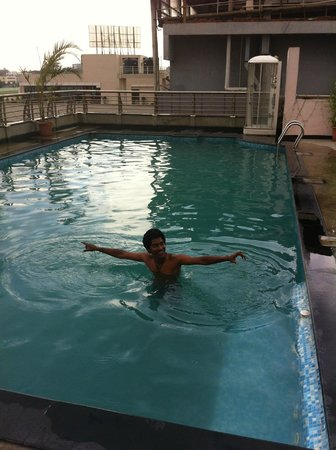 The Fern Citadel Hotel: My Friend Swimming