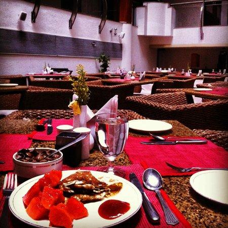 The Fern Citadel Hotel: Breakfast Menu