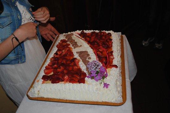 La Vignassa Ristorante: Torta....ottima