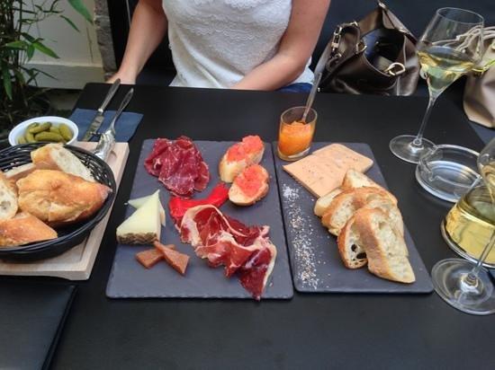 Dr. Wine : planches ibérique et de foie gras
