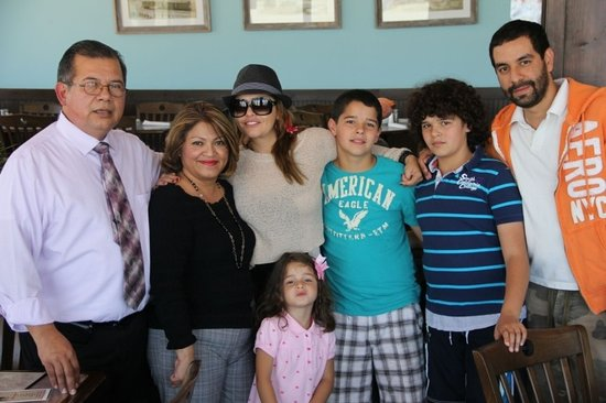 Dirty Al's at Pelican Station: Itati cantoral and her family  visited our restaurant .