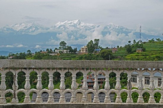 Bandipur Village Resort: View from the Balcony