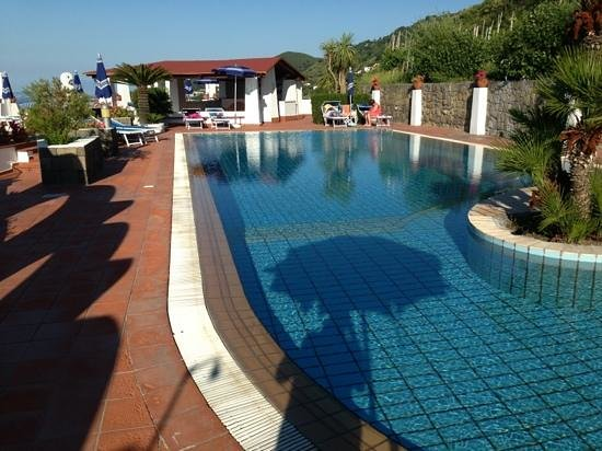 Poggio Aragosta Hotel & Spa : la piscina di acqua naturale