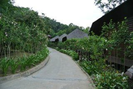 Bunga Raya Island Resort & Spa: Bunga Raya Resort