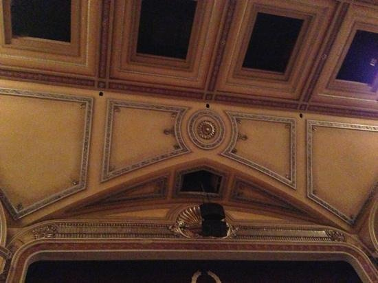 Festival Theatre: above curtain
