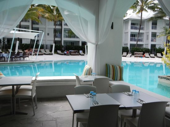 Sublime Restaurant: pool area