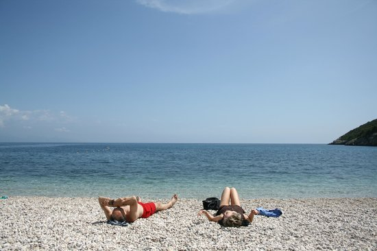 Orfos Villas: Makris Gialos Beach