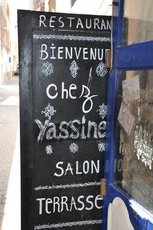 Chez Yassine : .