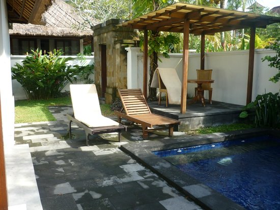 Pertiwi Resort & Spa: Prive zwembad