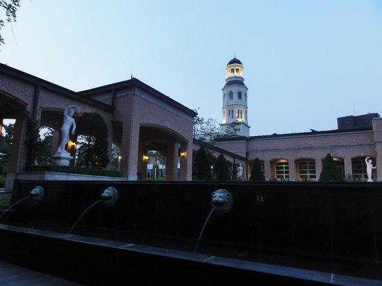 Mayfield Hotel : 中庭