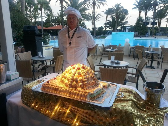 Robinson Club Jandia Playa: Eisbombe Gala-Dinner