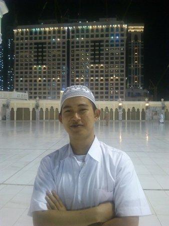 InterContinental Dar Al Tawhid: suasana luar hotel