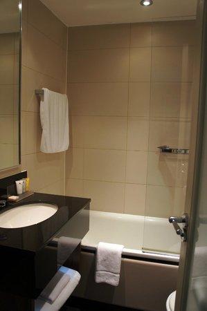 The Bristol: Small bathroom