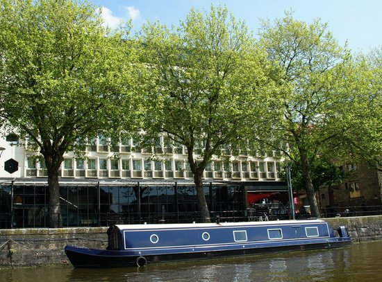 The Bristol: Exterior, from the river
