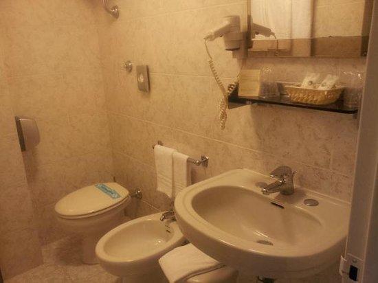 Hotel Gamma: bathroom