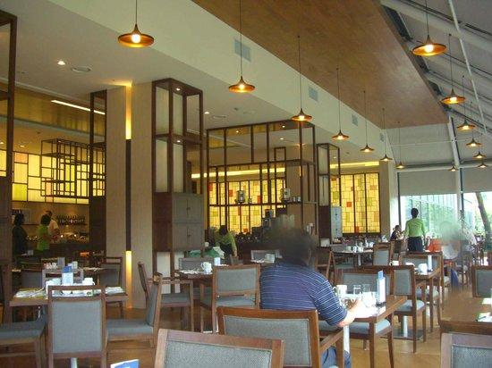 Hilton Gyeongju: breakfast restaurant