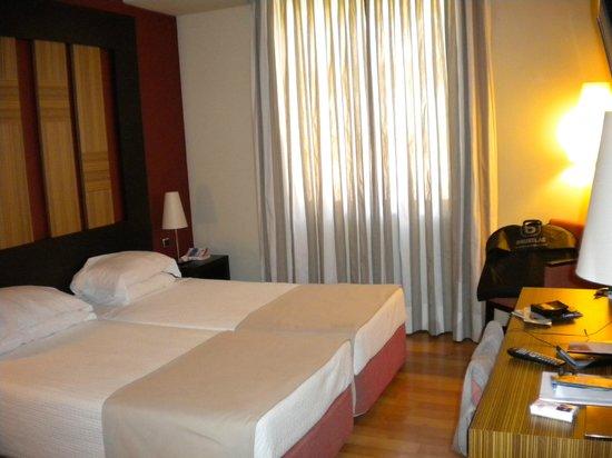 Hotel Lisboa: literie impéccable
