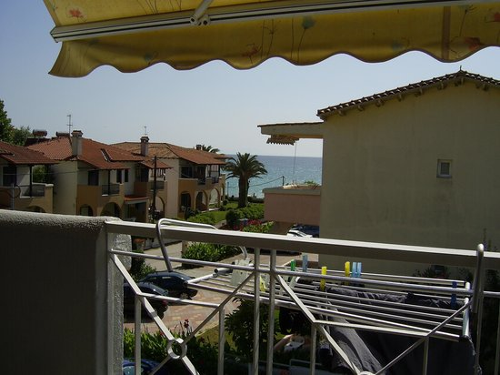 By the Sea: View from balcony