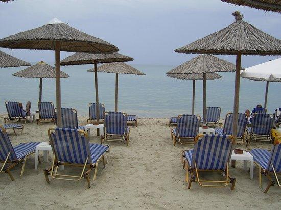 By the Sea: Siviri's beach