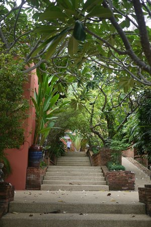 Renaissance Koh Samui Resort & Spa: Walk from pool to room