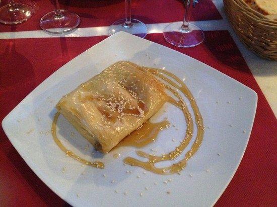 Marco Polo Cafe : feta con miele