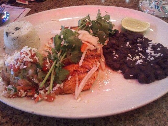 Pappasito's Cantina: Grilled Salmon