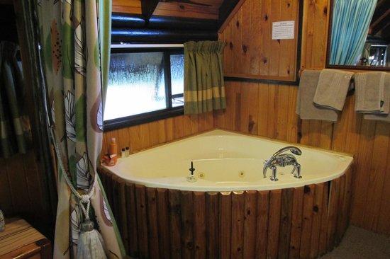 Tsitsikamma Lodge: Badewanne mit Whirlpool