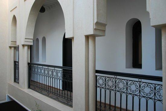Riad Dar Foundouk: 2. Hoteletage / Innenhof Zimmeransicht