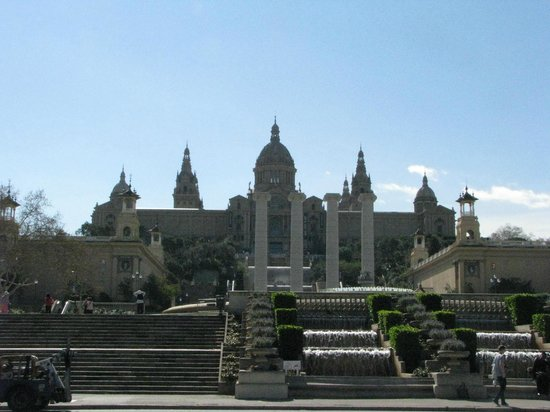Vista del Monjuic - Picture of Parc de Montjuic, Barcelona ...