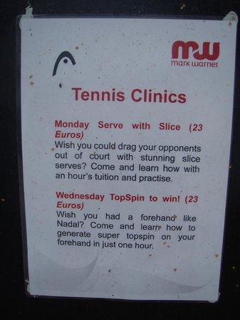 Resort Tennis Prices!! - Picture of Luz Ocean Club, Luz