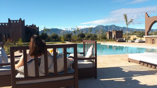 Kasbah Igoudar: Breakfast with a view