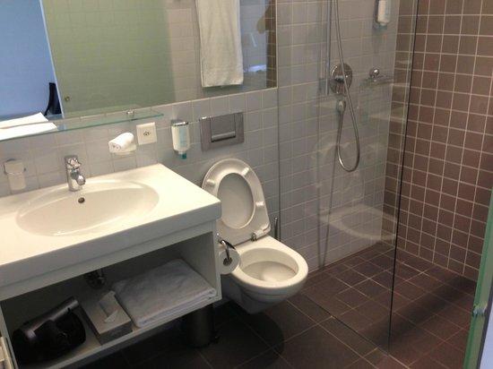 HSG Alumni Haus: bathroom was clean