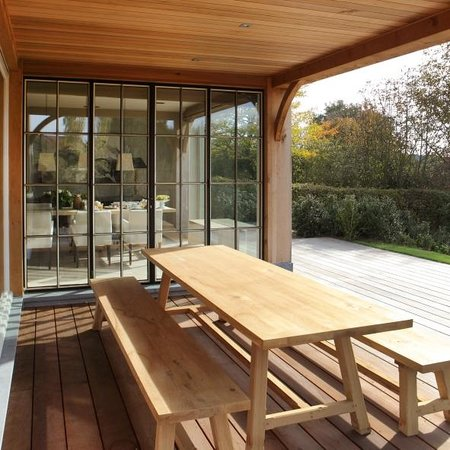 Myrrhis Bed and Breakfast: outside dining-table
