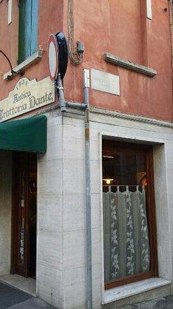 Tavernetta Dante: esterno