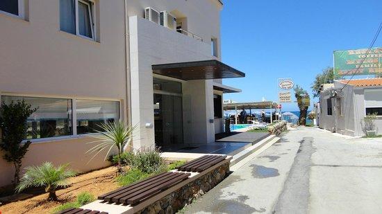 Hotel Despina: Entren
