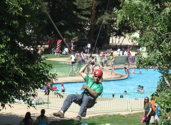 San José de Maipo, Chile: Canopy Ruta Vertical, Hotel Guayacan