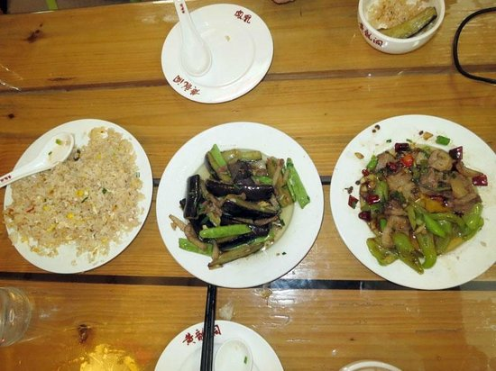 Wulingyuan Zhongtian International Youth Hostel : Yummy food!