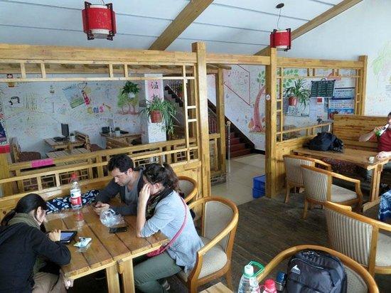 Wulingyuan Zhongtian International Youth Hostel : Common area