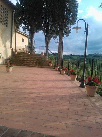 Agriturismo La Lucciolaia: Veranda