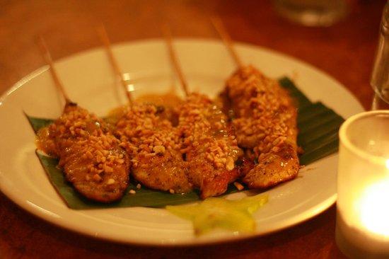 Tahruah Thai & Vietnamese Restaurant: Chicken Satay