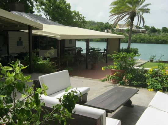 Antigua Village: lunch at nelson dock yard -